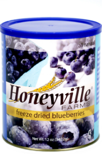 Freeze Dried Blueberries LARGE CAN