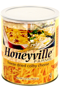Freeze Dried Colby Cheese LARGE CAN
