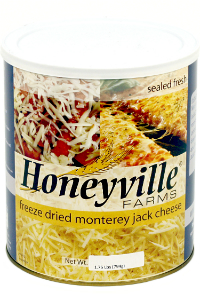 Freeze Dried Monterey Jack Cheese LARGE CAN