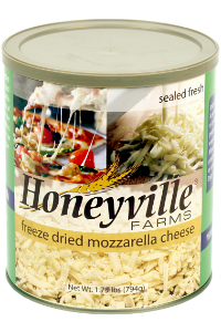 Freeze Dried Mozzarella Cheese LARGE CAN