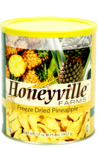 Freeze Dried Pineapple LARGE CAN