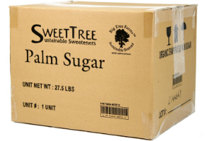 Organic Coconut Palm Sugar 44 LB
