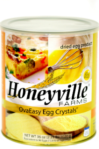 Ova Easy Whole Egg Crystals LARGE CAN