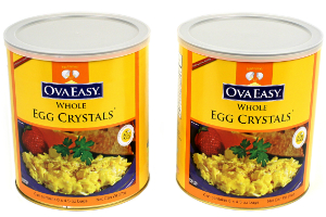 Ova Easy Whole Egg Crystals Twin Pack