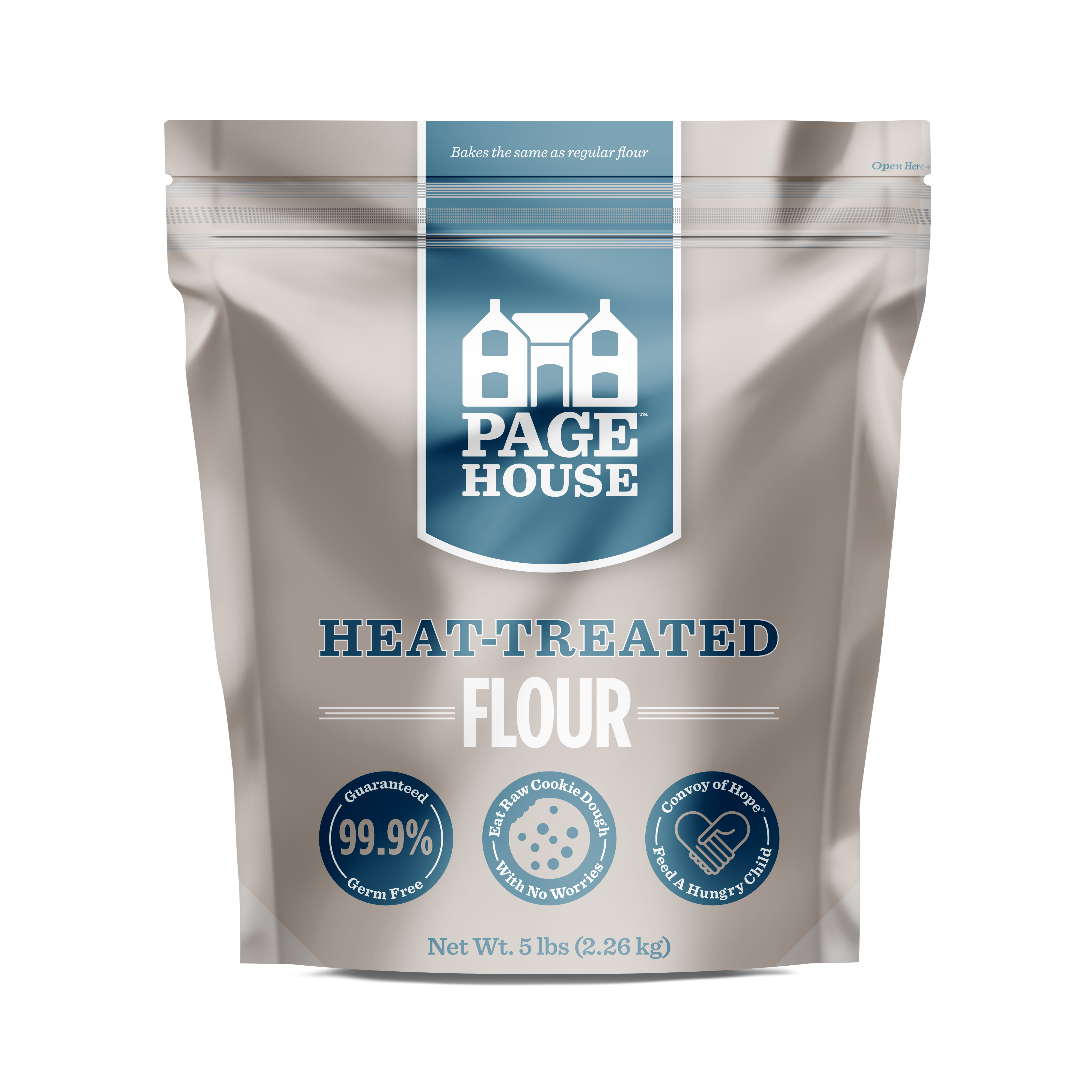 Page House Heat-Treated Flour 5lb.