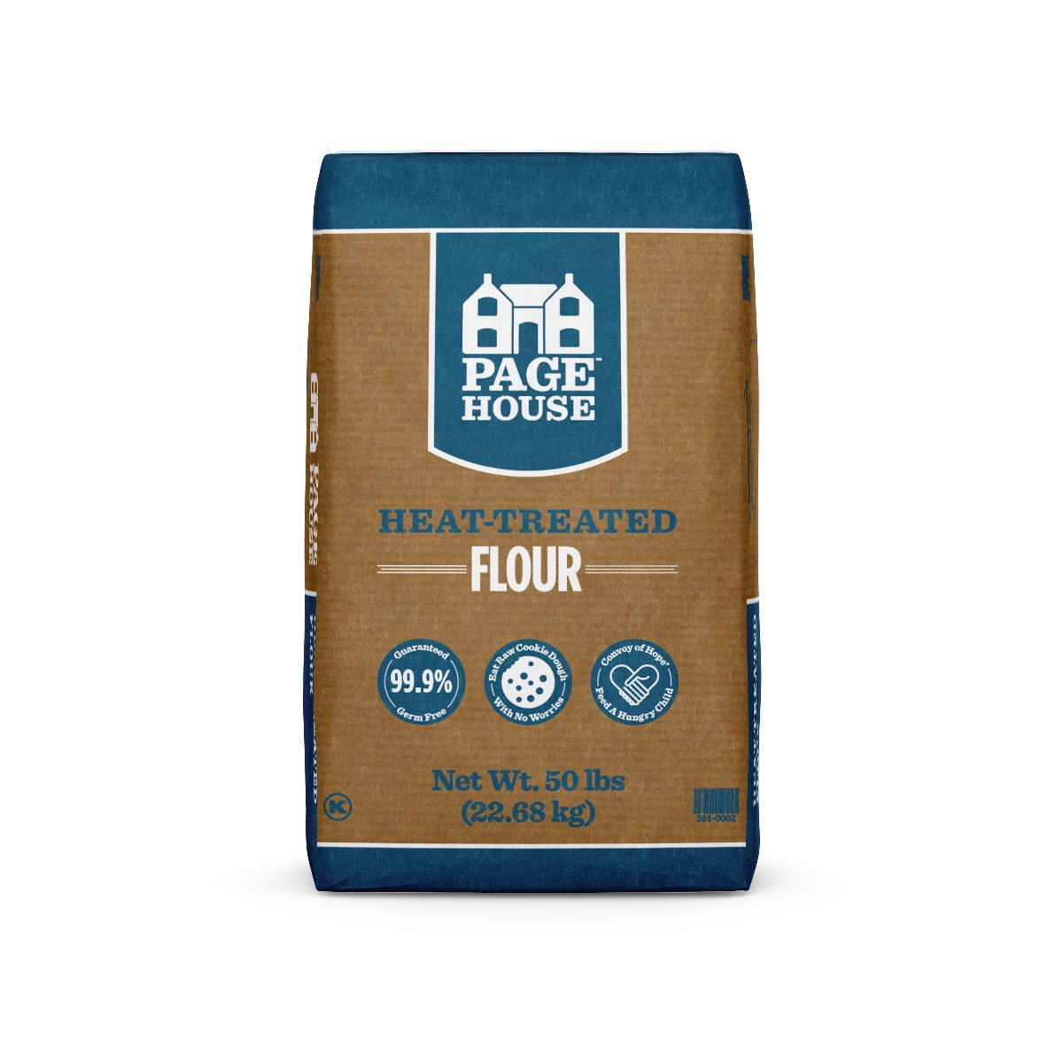 Page House Heat-Treated Flour 50#