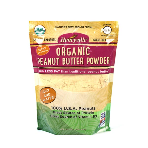 Honeyville Organic Peanut Butter Powder
