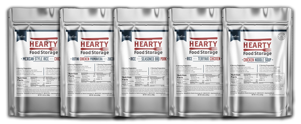 Hearty Foods Variety Pack